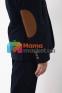 Вельветовый костюм для мальчика Lilus модель 10, цвет синий 3