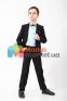 Классический школьный костюм для мальчика Lilus 217/2/16/1409, цвет черный 1