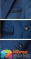 Классический школьный костюм для мальчика Lilus 217/2 цвет 1405, цвет синий 3