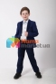 Классический школьный костюм для мальчика Lilus 217/2 цвет 1405, цвет синий 5
