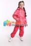 Демисезонный  утепленный комплект для девочки Lassie by Reima 721756R-722724, цвет 3362 3
