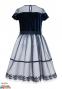 Нарядное платье Sly 14/J/18, цвет синий 1