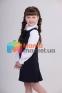 Школьное платье Lukas 4208, цвет черный 4