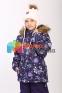 Шапка зимняя для девочки HUPPA MACY 83570000, цвет 60020 0