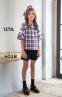 Школьная юбка-шорты Sly 402B/S/19 цвет синий 0