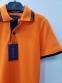 Футболка-поло для мальчика с коротким рукавом Ingvar, цвет оранжевый 1