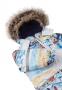 Зимний детский комбинезон Lassie by Reima Nyuka 710752, цвет 0101 1