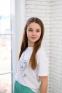 Летняя футболка для девочки Filatova Девочка, цвет белый 0