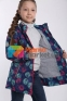 Демисезонная ветровка для девочки Joiks AVG-015, цвет синий 6