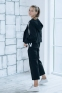Трикотажный костюм для девочки Filatova, цвет черный 2
