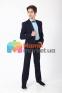 Классический подростковый костюм  Lilus 419/2/16С/2341, цвет синий 7