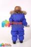 Kомбинезон-пуховик зимний для мальчика HUPPA BEATA 1 31930155 , цвет blue  70035 4