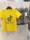 Летний костюм для девочки Babylife TikTok, цвет желтый 1