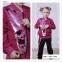 Спортивный костюм c двусторонними пайетками для девочки JOIKS sport Малина 1