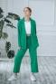 Деловой подростковый костюм-двойка Filatova, цвет зеленое яблоко 1