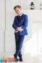 Классический школьный костюм для мальчика Lilus 217/2 цвет 1405, цвет синий 0