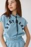 Летний спортивный костюм с шортами для девочки Suzie Арбери, цвет голубой 6