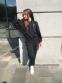 Трикотажный костюм для девочки Filatova Губки, цвет черный 0
