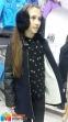 Стильное кашемировое пальто для девочки Baby Angel 698, цвет темно-синий 5