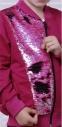 Спортивный костюм c двусторонними пайетками для девочки JOIKS sport Малина 0