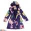 Пальто демисезонное для девочки Huppa LUISA 12430010, цвет 91373 1
