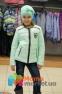 Демисезонная курточка для девочки Baby Angel M 782, цвет мятный 1
