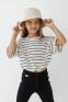 Летняя футболка девочки Suzie Бриджит, цвет молочный 3
