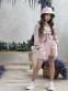 Летний костюм для девочки Wellkids, цвет бежевый 3