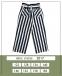 Летние брюки-кюлоты для девочки MONE 2017, цвет полоска 6