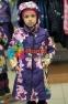 Пальто демисезонное для девочки Huppa LUISA 12430010, цвет 91373 4