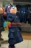 Пальто демисезонное для девочки Huppa LEANDRA 18030004, цвет 00086 5
