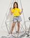 Летний костюм для девочки Babylife TikTok, цвет желтый 0