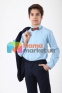 Классический подростковый костюм  Lilus 419/2/13/2348, цвет синий 6