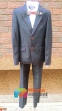 Классический школьный костюм для мальчика Lilus 217/2, цвет синий с красной отстрочкой 3