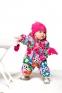 Комбинезон демисезонный для девочки утепленный Deux par Deux W64S, цвет 008 1