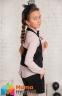 Юбка-шорты из костюмной ткани Baby angel 958, цвет черный 0