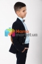 Вельветовый костюм для мальчика Lilus модель 10, цвет синий 8