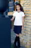 Школьная юбка Sly 311B/S/19, цвет синий 1