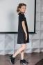 Платье для девочки Lukas 0235, цвет черный 0