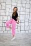 Летние кюлоты для девочки Filatova, цвет розовый 1