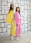 Летние кюлоты для девочки Filatova, цвет желтый 3