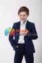 Классический школьный костюм для мальчика Lilus 217/2 цвет 1405, цвет синий 4