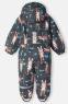 Детский демисезонный утепленный комбинезон Lassie by Reima 710743R, цвет 9601 0