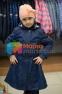 Пальто демисезонное для девочки Huppa LEANDRA 18030004, цвет 00086 6