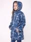 Курточка-парка для девочки Joiks EW-38, цвет синий 1