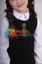 Школьное платье Lukas 5212, цвет черный 3