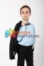 Классический школьный костюм для мальчика Lilus 217/2/16/1409, цвет черный 4