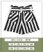 Летние шорты с завышенной талией для девочки MONE 2018, цвет полоска 3