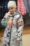 Пальто демисезонное для девочки Huppa LUISA 12430010, цвет 91348 5