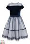 Нарядное платье Sly 14/J/18, цвет синий 0